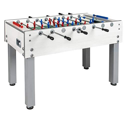 Garlando G-500 White Weatherproof Foosball Table
