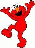 "Sesame Street Elmo Cartoon Car Bumber Sticker Decal 4""x 5"""