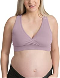 French Terry Racerback Nursing Sleep Bra for Maternity/Breastfeeding