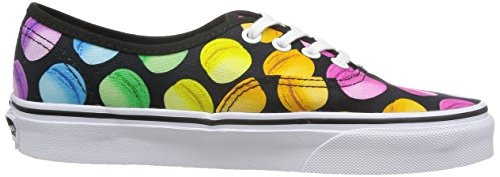 Vans Authentic, Unisex Adults Low-Top Sneaker Black (Black/Multicolour)