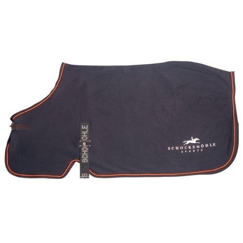 Schockemö hle 1730-00021 Transport-/Abschwitzdecke Horse Sweater, 135 cm grau/orange Schockemöhle