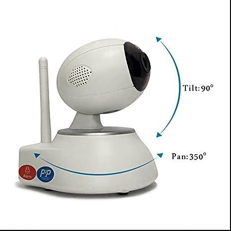 Indoor 720P Inalámbrica WiFi Vigilancia, Voz interfono ...