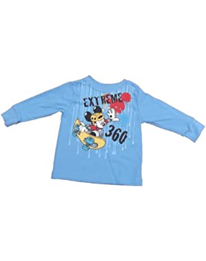 Mickey Mouse Infant Boys Long Sleeve Shirt Extreme 360