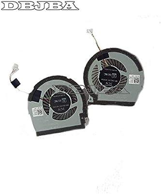 DBTLAP New Laptop Fan for Dell Inspiron 15-7000 15R 7566 7567 L + R