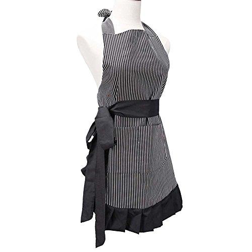 Line Art Floral Dress - 8