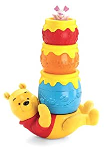 fisher price disney 39 s winnie the pooh honey pot stackers toys games. Black Bedroom Furniture Sets. Home Design Ideas