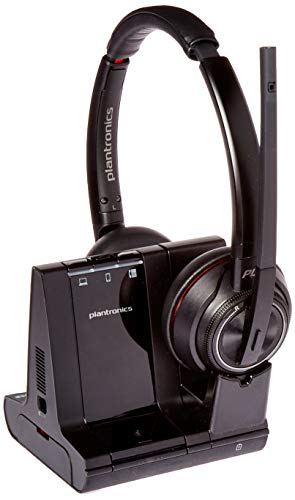 - Plantronics Savi 8200 Series Wireless Dect Headset System