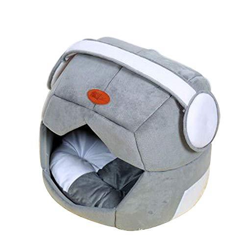 HUIFANG Space Cap Creative, De Doble Uso, Pet Nest, Teddy Kennel Cat Nest, Nido De Mascota Transpirable, Jaula para Perros A...
