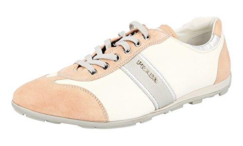 Prada Women's 3E5008 MGU F0W0J Leather Trainers/Sneaker QaFrM8T82W
