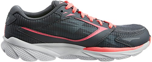 Skechers Go Run Ride 3 - Sandalias deportivas para mujer Charcoal/Hot Pink