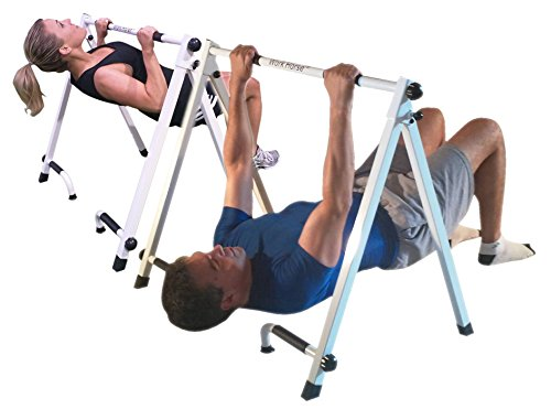Portable Pull-up & Push-up Bar - For Inverted Pull-ups by WorkHorse Fitness