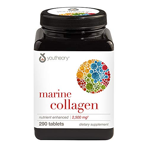 (Youtheory Marine Collagen, 290 Count)