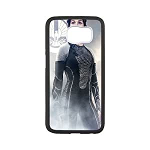 Samsung Galaxy S6 Cell Phone Case Black The Hunger Games Catching Fire Katniss V0P1EH
