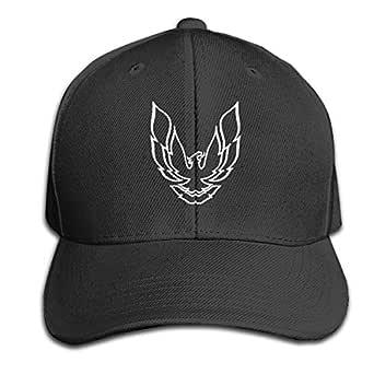 Pontiac Firebird Logo, patrón Impreso de Color Puro Peaked Cap ...