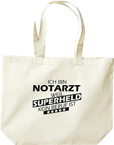 große Einkaufstasche, Ich bin Notarzt, weil Superheld kein Beruf ist, Natur
