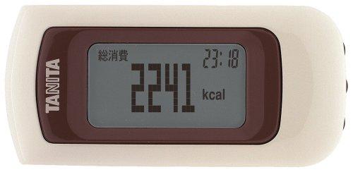 Tanita Pedometer - Calorism Ez-061-wh, Calory Recorder, (Japan Import)