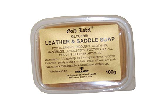 Glycerin Leather & Saddle Soap, Gold Label, 100 Gm ()