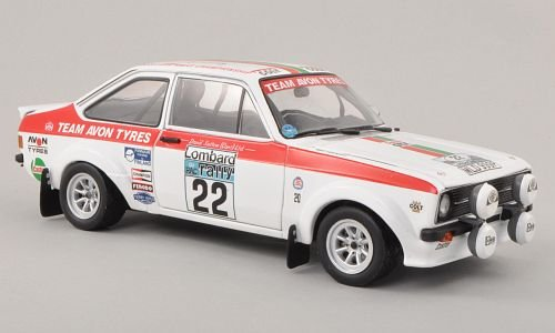 Ford Escort RS1800, No.22, Team Avon Tyres, Tyres, Tyres, RAC Rally , 1976, Modellauto, Fertigmodell, Sun Star 1:18 1d2055