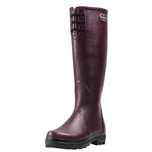 Le Chameau Footwear Women's Lisiere Rain Boot, Cherry, 40 EU/8 M US (Rain Boot Womens Cherry)