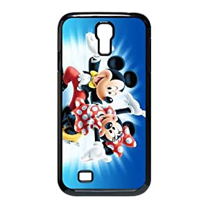 Disney Mickey Mouse Minnie Mouse Samsung Galaxy S4 90 Cell Phone Case Black y2e18-377621