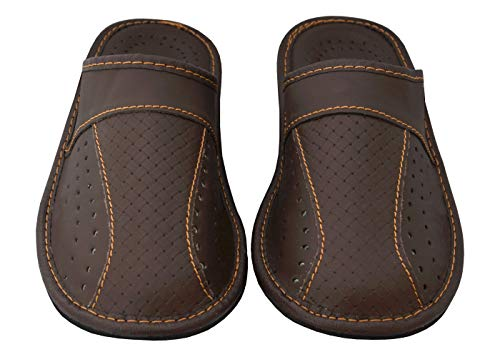 Genuine 44 41 1 42 Rot 46 Herren Echtleder Hausschuhe Schwarz Becomfy Braun Pantoffeln Manner 45 Leather 43 40 Aus qE1Zx7fn7B