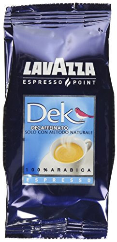LavAzza Espresso Point Decaf Decaffeinated DEK Espresso Point Cartridges (50 capsules per (0.25 Ounce Pods)