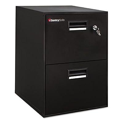 Sentry Safe Fire-Safe File 2.08 Cubic Feet, Black Color