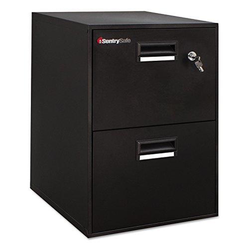 Sentry Safe Fire-Safe File 2.08 Cubic Feet, Black Color - Dvd Storage Armoire