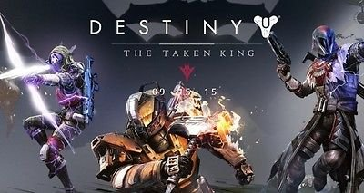 Price comparison product image SDore DESTINY The TAKEN King XBOX 360 One PS4 Birthday 1/2 Half Sheet Image Frosting Cake Topper