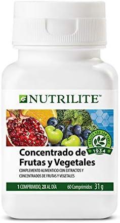 NUTRILITE Concentrado de Frutas y Vegetales Biológico 31g 60 Comprimidos