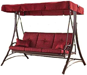 Amazon.com : STS SUPPLIES LTD Garden Swing loveseat Metal ...