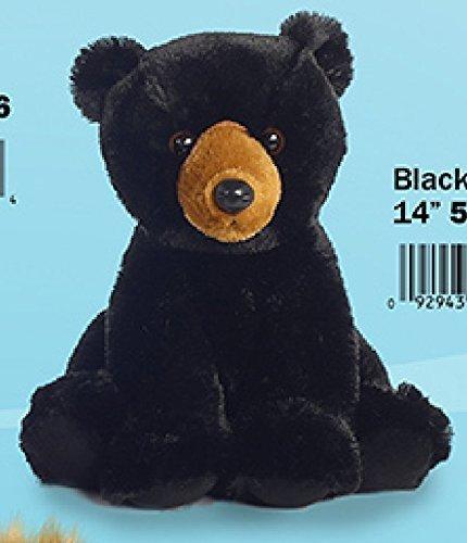 Black Bear Plush Stuffed Animal - Aurora - Black Bear 14