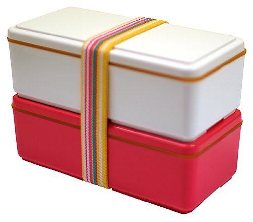 gel cool earth 2 tier japanese bento box love pink lunchbox style. Black Bedroom Furniture Sets. Home Design Ideas