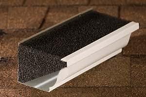5 Quot K Style Needle Leaf Wedge Foam Leaf Gutter Guard Insert