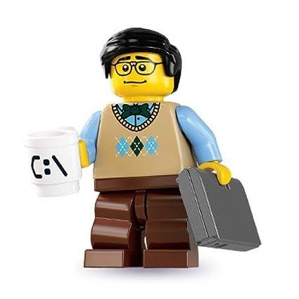 Amazon.com: Lego Series 7 Computer Programmer Mini Figure: Toys & Games