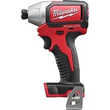"Milwaukee 2750-20 M18 1/4"" Hex Compact Brushless Impact Driver (Bare Tool)"
