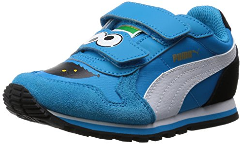 Puma St Runner Sesame Str Cm Kids - Zapatillas Unisex Niños Azul - Blau (atomic blue-black 01)