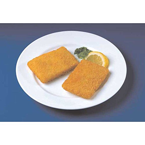 Fish-In-A-Minute Breaded Rectangle Alaskan Pollock, 3 Ounce of 53 Pieces, 10 Pound - 1 each. (Breaded Fish)