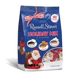 Russell Stover Assorted Mini Santas, 20.6 oz. Bag