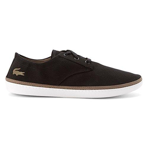 Lacoste Heren Malahini Dek September Fashion Sneakers Zwart / Lichtbruin