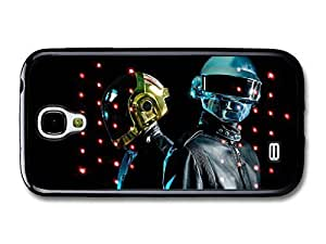 AMAF ? Accessories Daft Punk Portraits Red Dots Helmets case for Samsung Galaxy S4