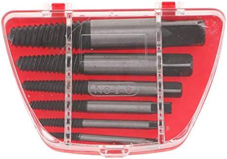 スクリューリムーバーツール 精密ドライバー 簡単 破損 パイプ+ケース 合金鋼 全2サイズ - 6個