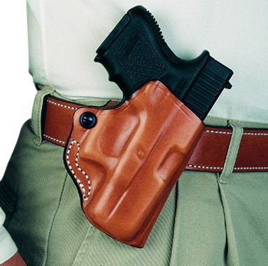 DeSantis Mini Scabbard S&W J-Frame Right Hand Black (Smith Holster Wesson And 640)