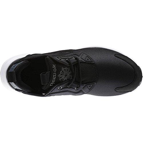 Reebok Furylite - Zapatillas de deporte, Niños Negro / Blanco (Black / Graphite / White)