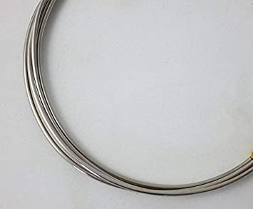 1 Ounce Round 19 Ft Dead Soft 925 Sterling Silver Wire 20 Gauge from Craft Wire