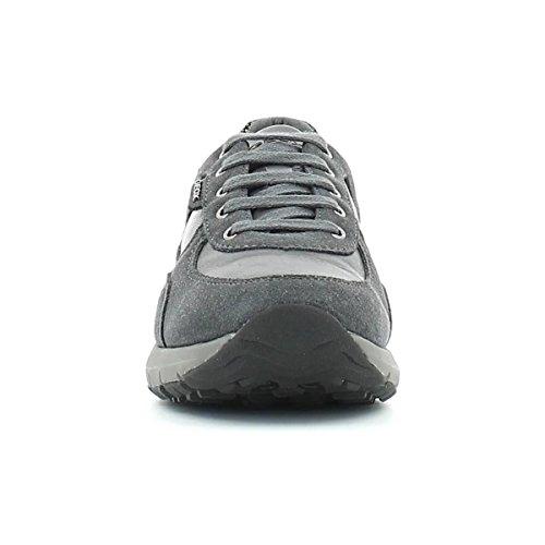 Calzado deportivo para mujer, color gris , marca GEOX, modelo Calzado Deportivo Para Mujer GEOX D HAYDEN E.W.A Gris antracita