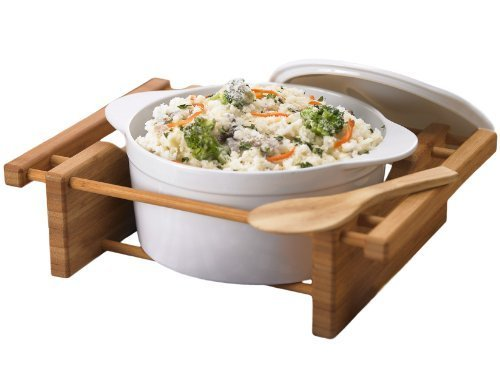 Creative Home 73459 2.5-Quart Grand Buffet Covered Casserole by Creative Home (Covered Buffet Casserole)