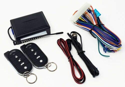 2 Key Fob Remote Controls Scytek A15 Keyless Entry Car Alarm Security System
