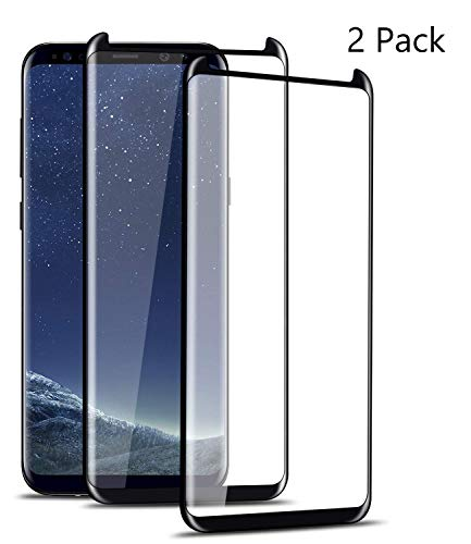 Littlejian Screen Protector,Compatible Samsung Galaxy S9,2 Pack, [Anti-Scratch][Anti-Fingerprint][Bubble Free] Tempered Glass Screen Protectors