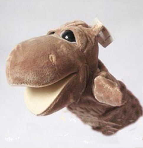 [Shalleen Story Learning Baby Kid Children Zoo Plush Toy Animal Hand Glove Puppets Cute ( Hippo )] (Pictures Of Scary Puppets)